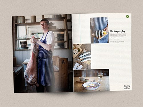 Brand Identity Agency London For The Pig Butcher