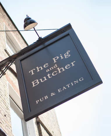 london brand and design agency pig and butcher brand identity