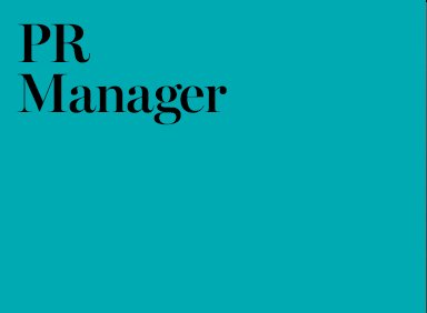 Public Relations Manager