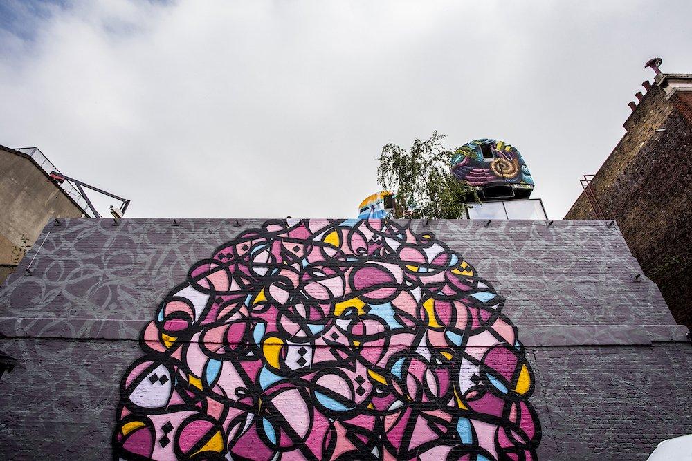 eL Seed Calligraffiti for Shubback 2016