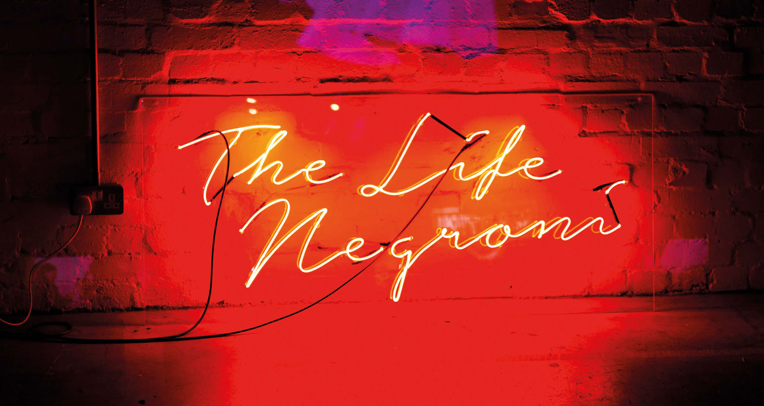 The Life Negroni branding and publishing agency