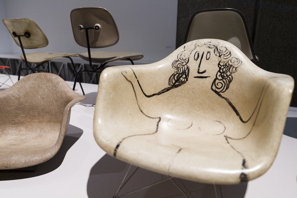 The World Of Charles And Ray Eames Photo© by Tristan Fewings/Getty Images for Barbican Art Gallery