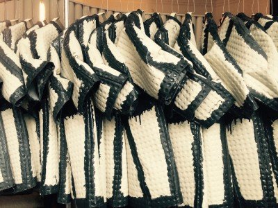 Faye Toogood's Toogood coats at the V&A ©DesignTalks