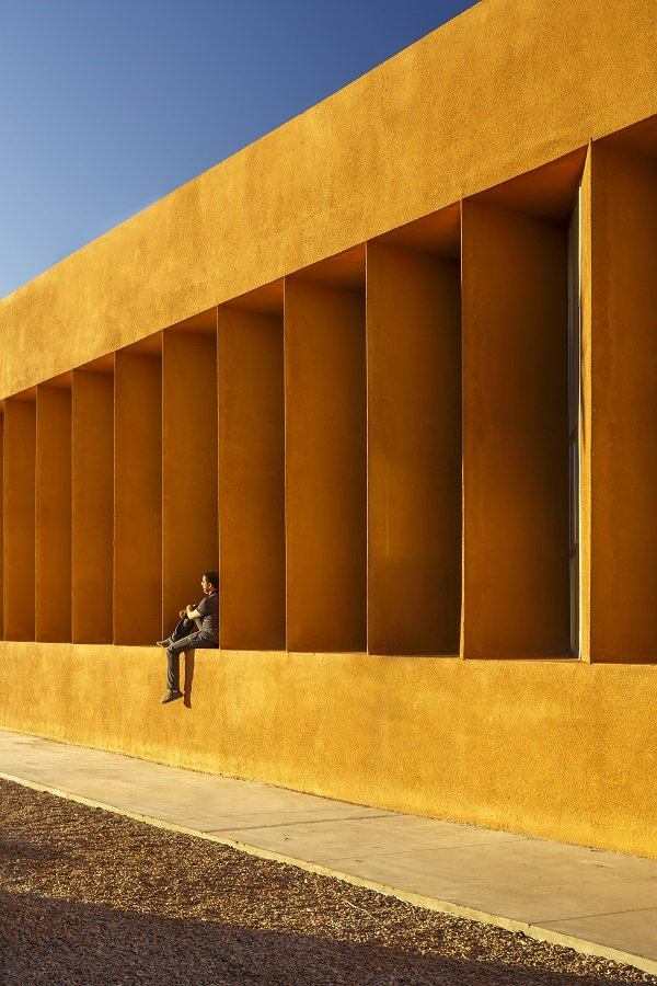 Exteriors_Universite lbn Zohr de Laayoune, Laayoune, Morocco_Photograph by Doublespace Photography (Amanda Large & Younes Bounhar