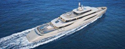Pinninfarina's Ottantacinque for Fincantieri Yachts