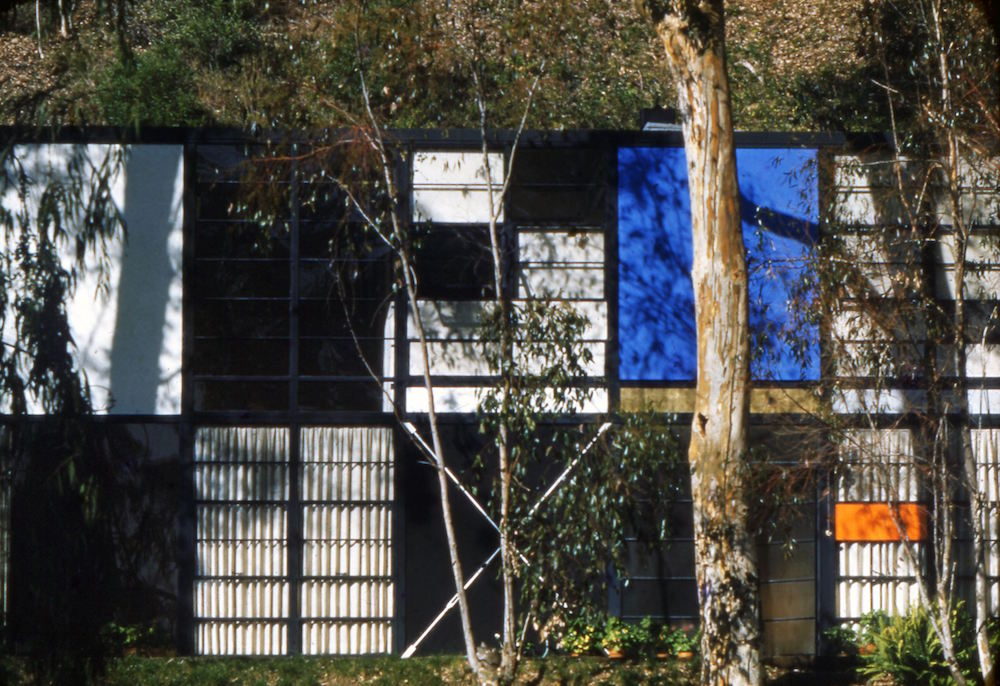 The World of Charles and Ray Eames. Eames House exterior © Eames Office LLC