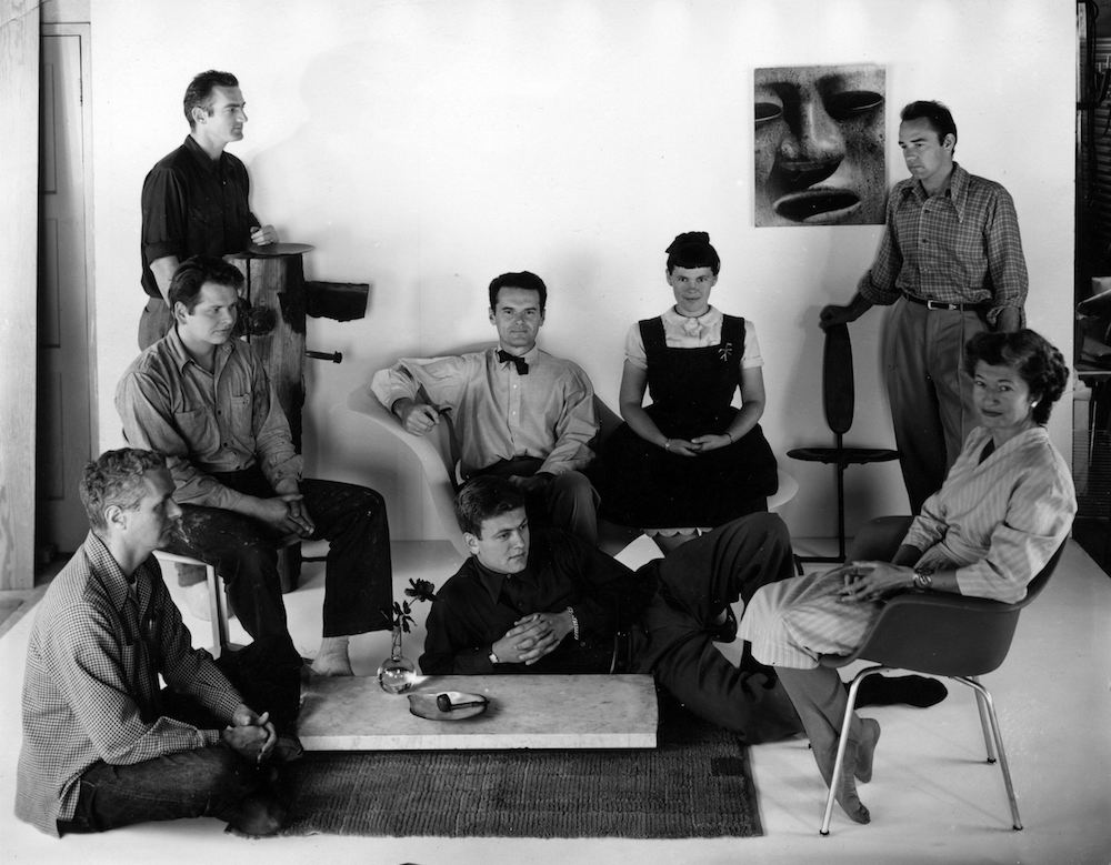 The World of Charles and Ray Eames. Eames Office staff © Eames Office LLC