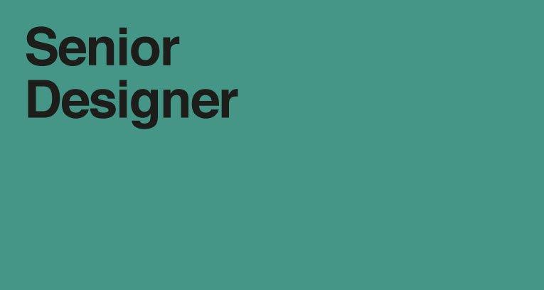 Senior Brand Design Jobs London