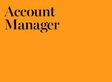 Senior Account Manager Job London