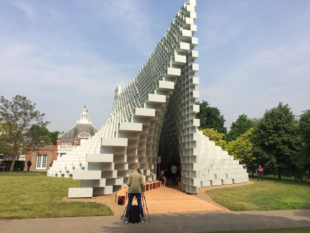 2016 Serpentine Pavilion by BIG
