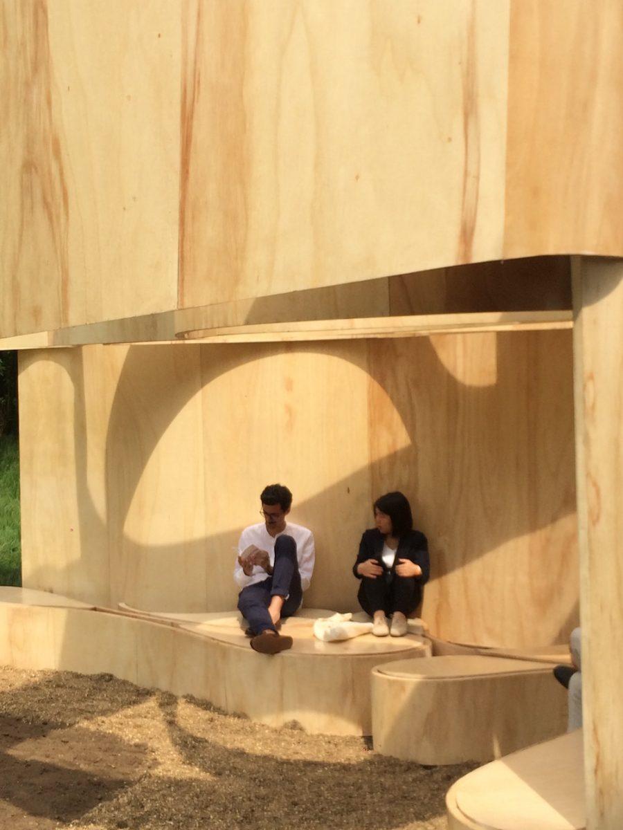 2016 Serpentine Pavilion by Kunle Adeyemi