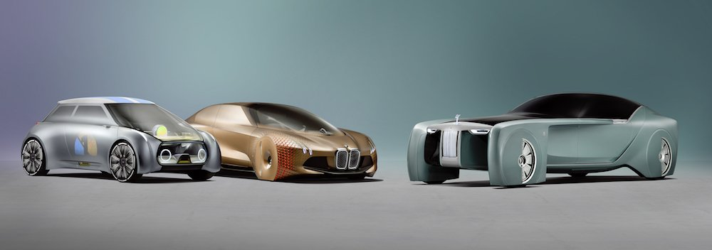 BMW, MINI, Rolls-Royce Vision 100 Next