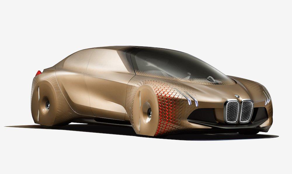 BMW Vision 100 Next concept car