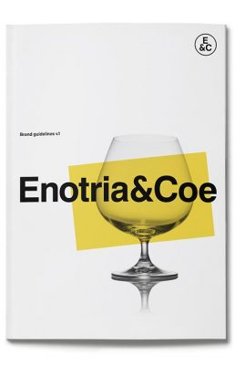 Brand identity guidelines for the wines and spirits giant Enotria&Coe