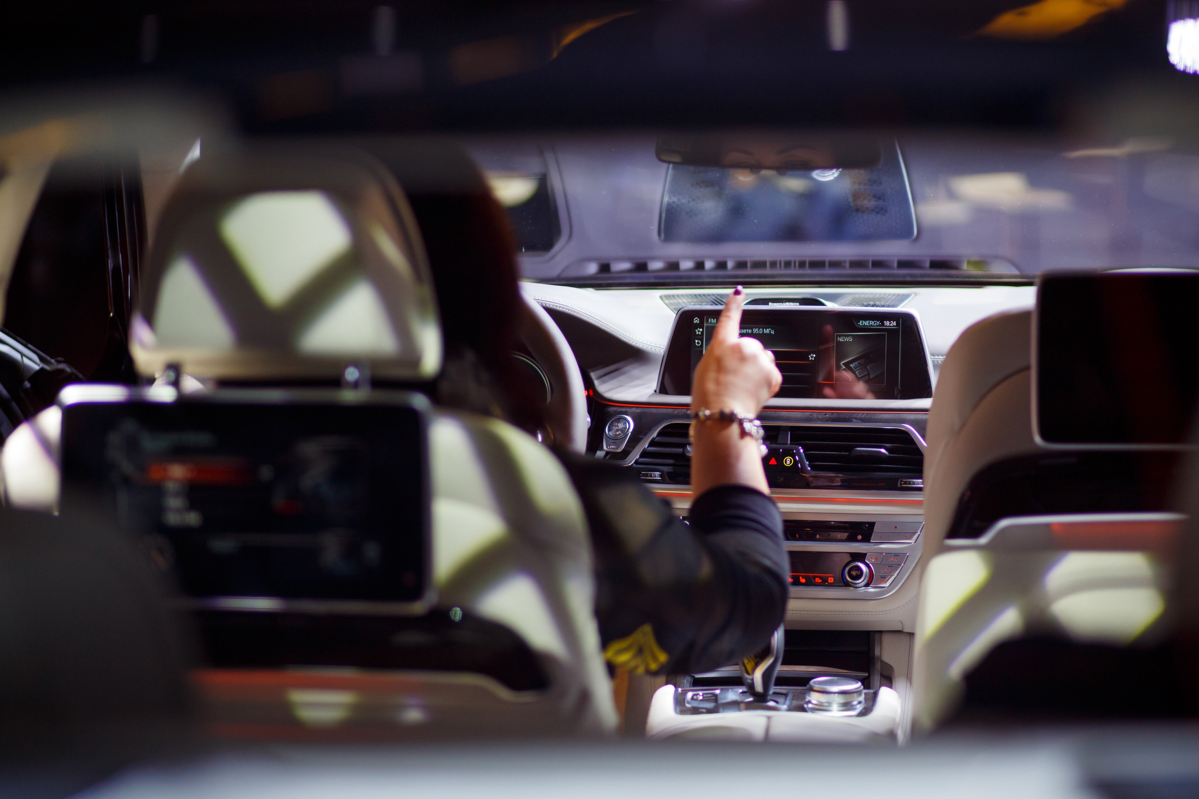 BMW 7 Series, introducing Gesture Control for the first time on this model