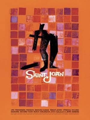 Saul Bass St John © 1957 Thanks to Otto Preminger Films, Ltd