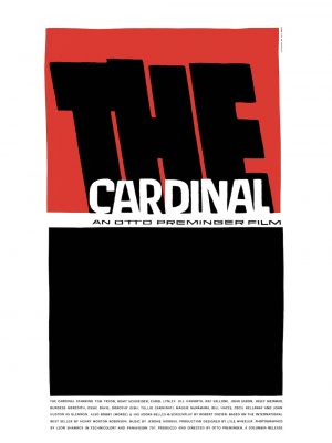 Saul Bass The Cardinal © 1963 Thanks to Otto Preminger Films, Ltd