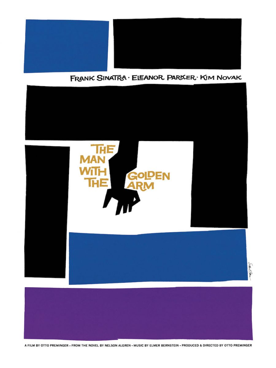 Saul Bass The Man with the Golden Arm © 1955 Thanks to Otto Preminger Films, Ltd