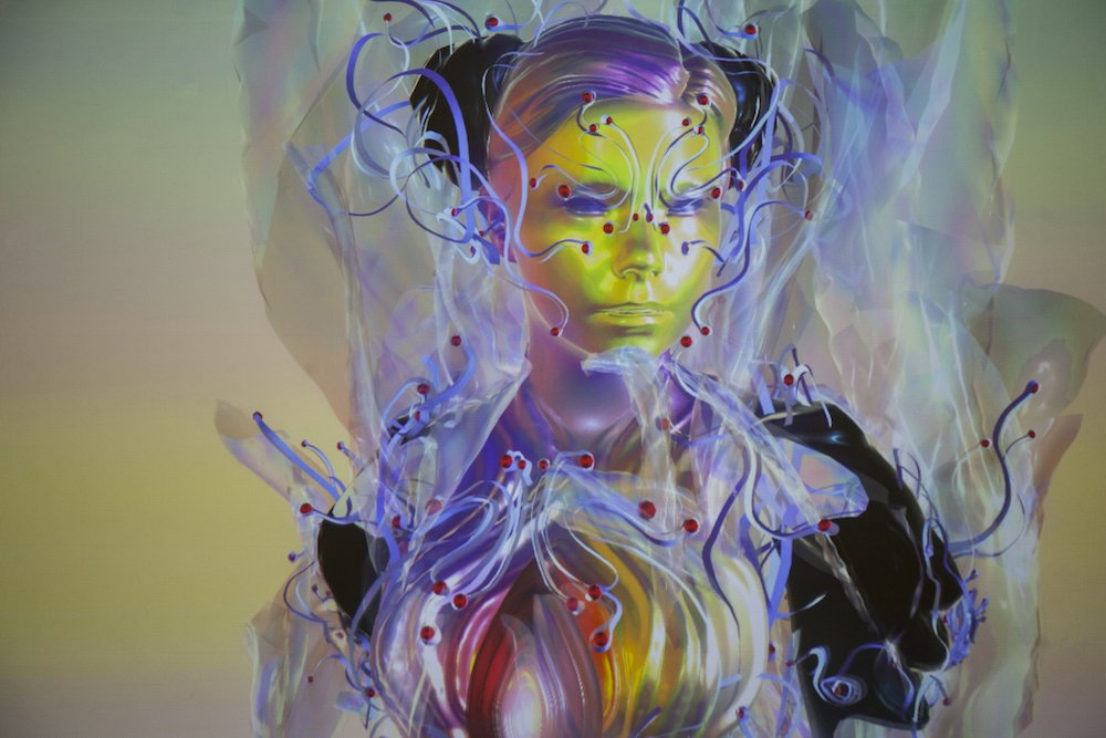 Björk Digital Somerset House ©Santiago Felipe