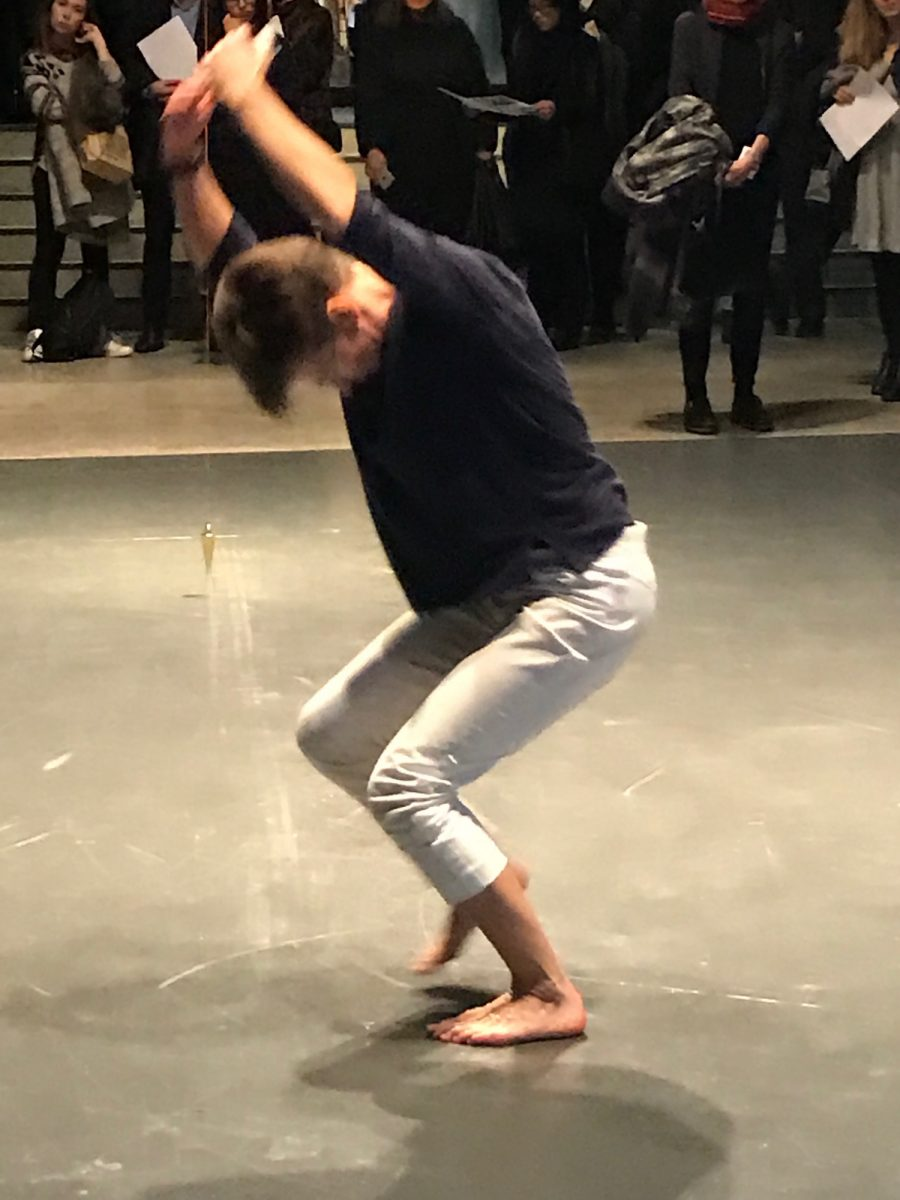 Andrea Buckley at Siobhan Davies Dance Barbican