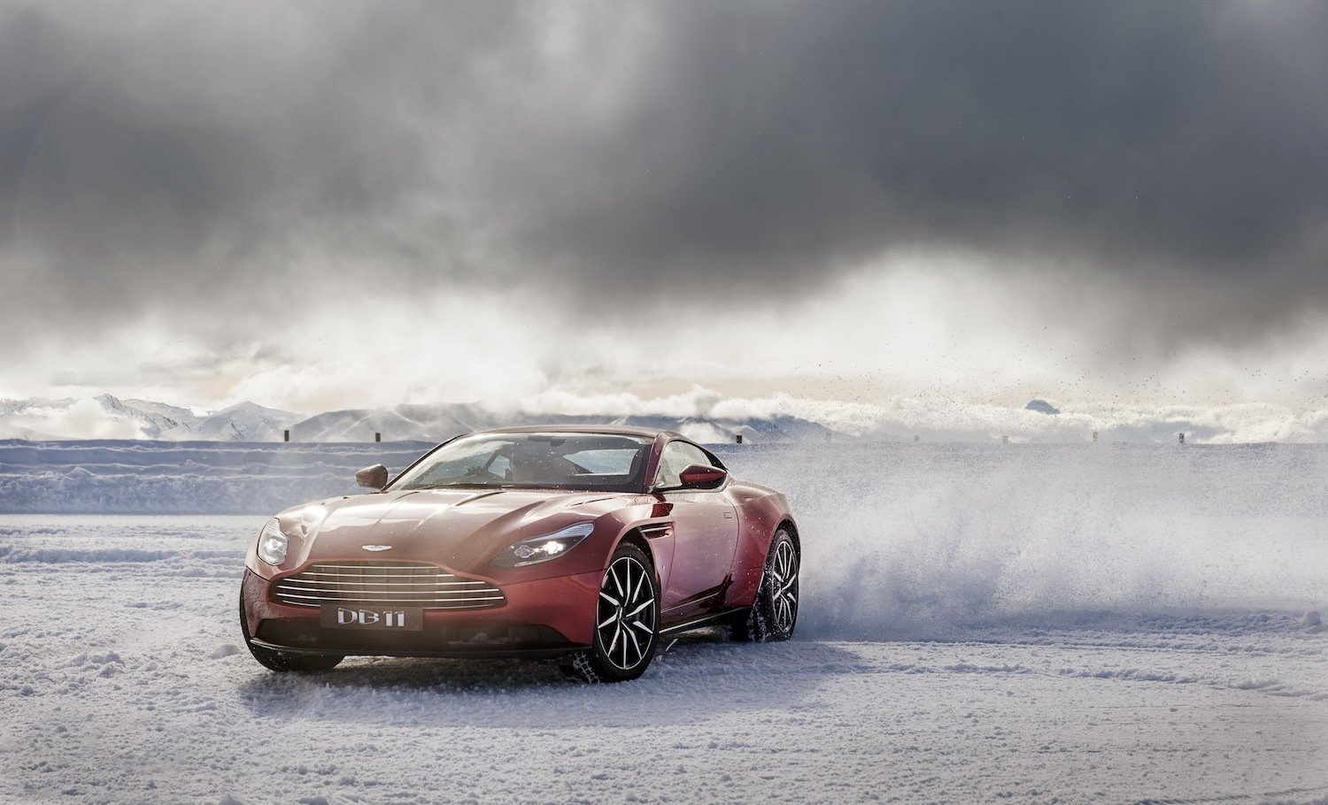 Art of Living by Aston Martin ice drive