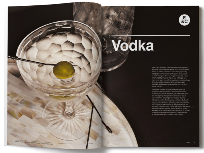 Brochure design for Enotria&Coe