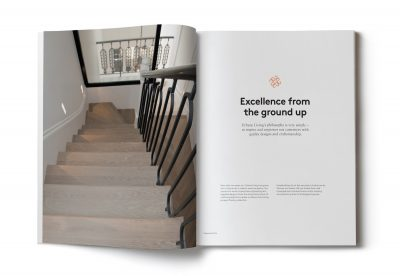 'Excellence from the ground up' is the working philosophy for Urbane Living created by Spinach