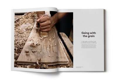 Urbane Living brochures by Spinach