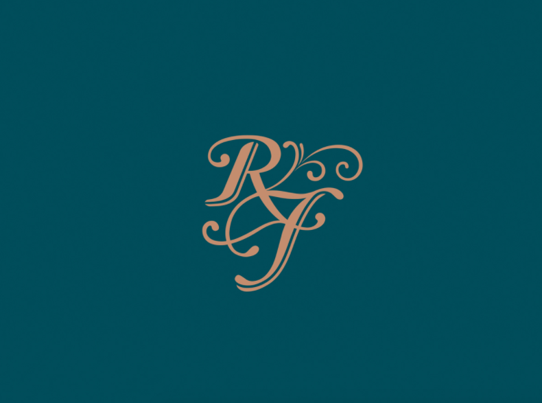 New logo by Spinach for Rupert Forsythe Bespoke Champagne