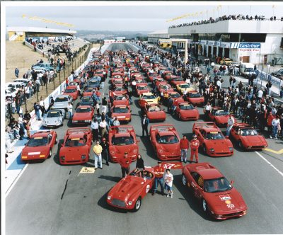 Rally of the South African Ferrari Clubs on the Kyalami Circuit for the 50th Anniversary Celebration, 1997 © Museo Ferrari