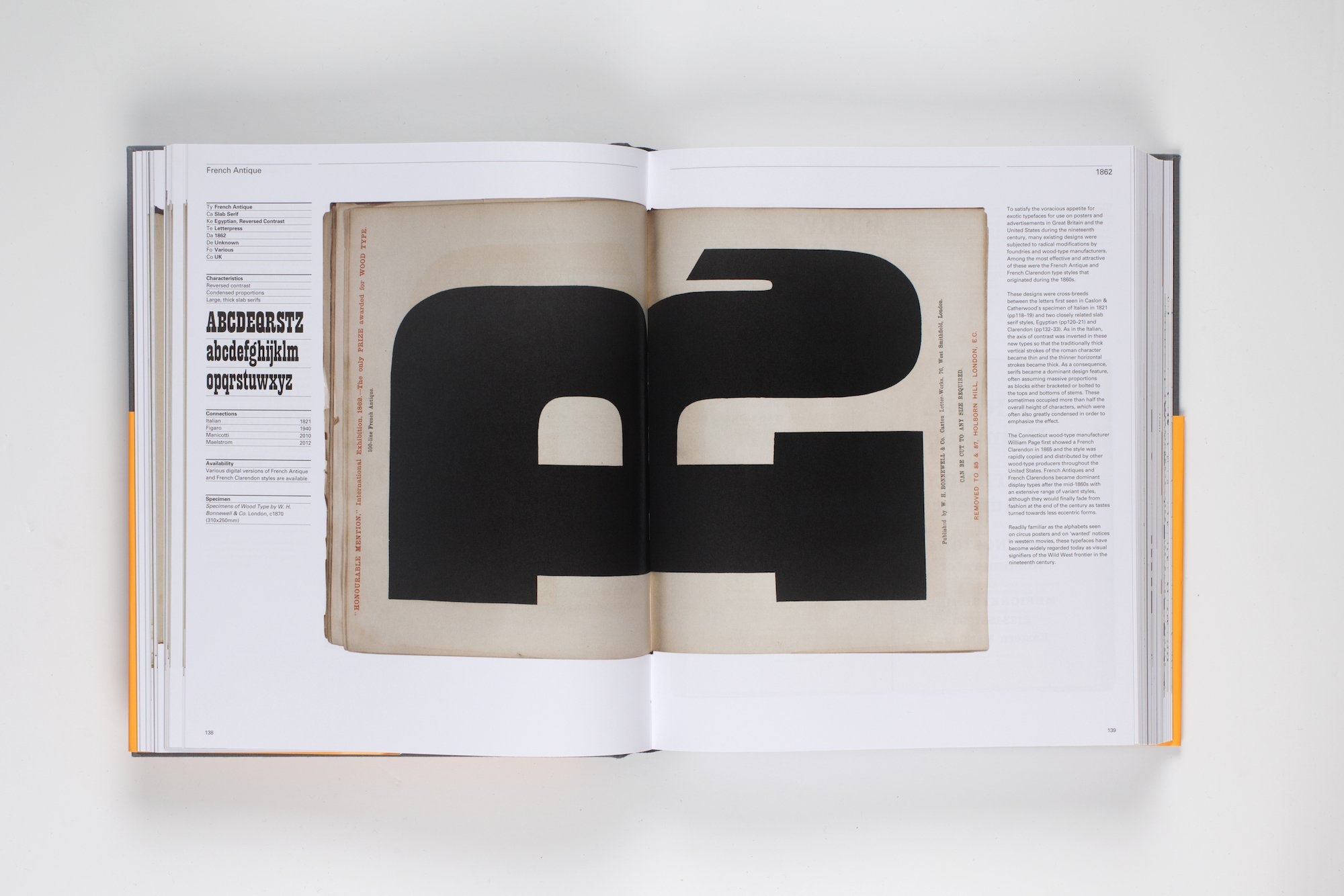 The Visual History of Type published by Laurence King