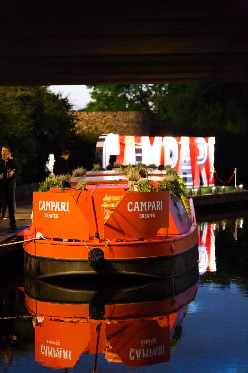 Spinach helps bring the true spirit of Milan with Campari Creates events design © Spinach