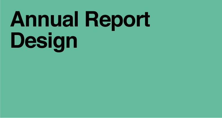 Annual Report Design Agency London