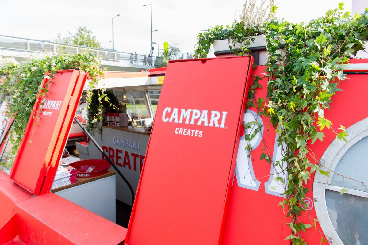 Campari Creates by Spinach at Design Junction ©Ruth Ward