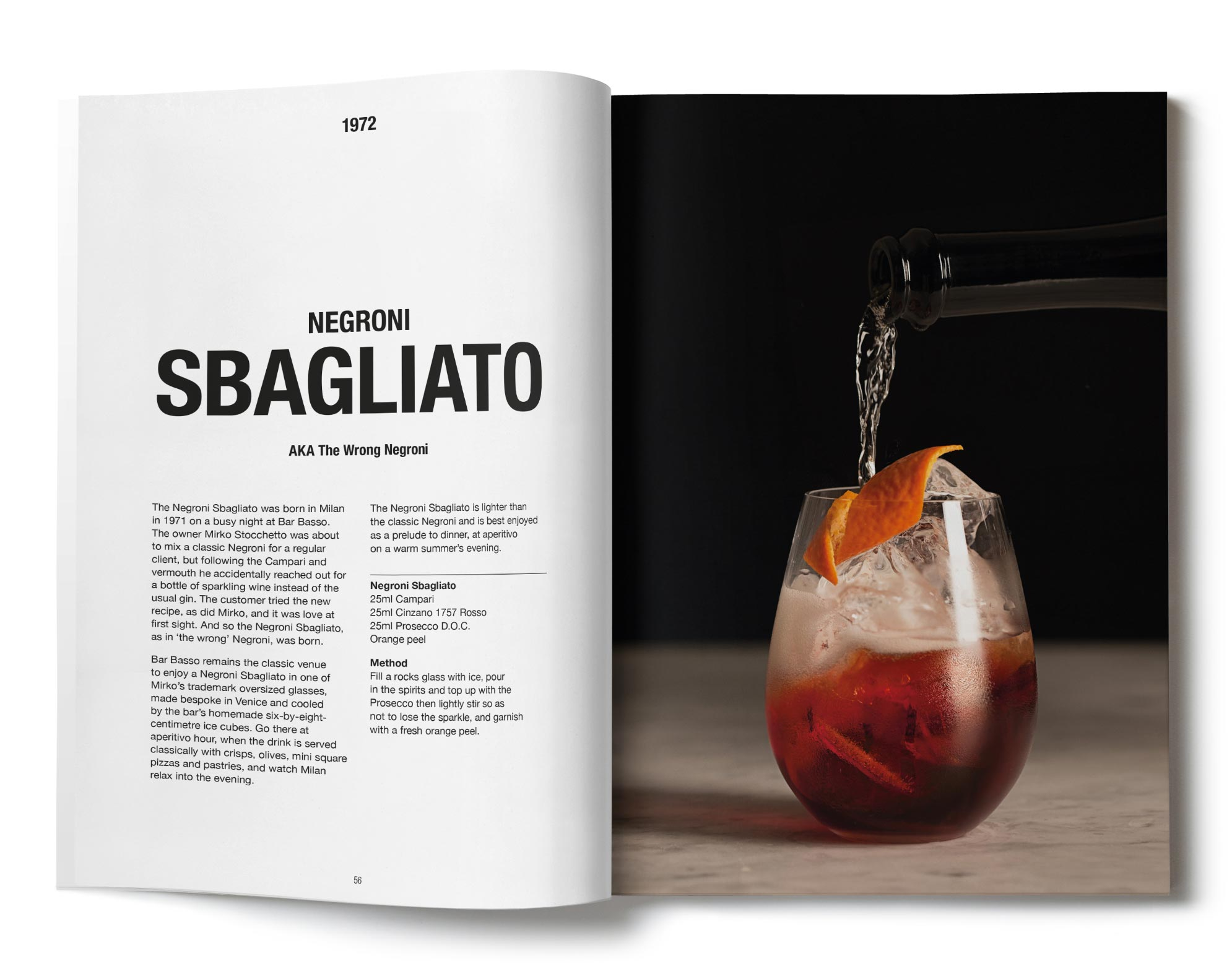 Brand book for campari la vita campari branding design for Service design agency london