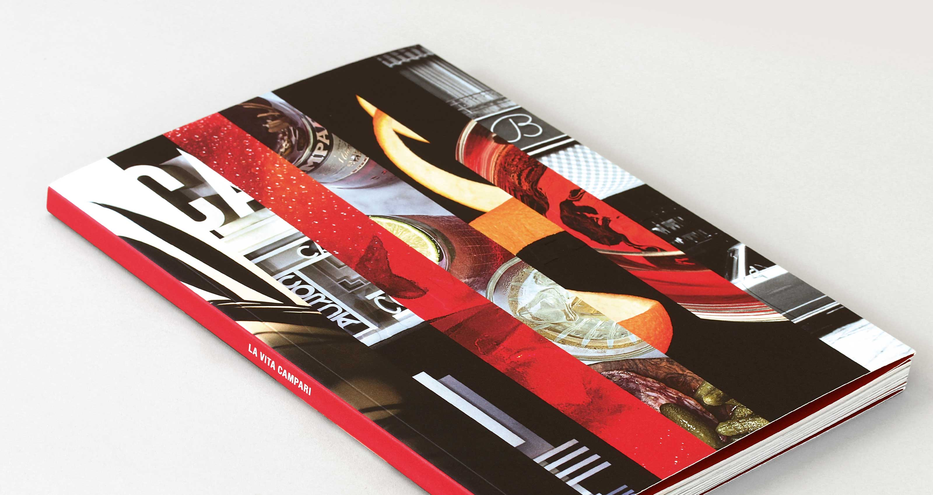 Campari Brand Advertising by Spinach Design London Branding Agency