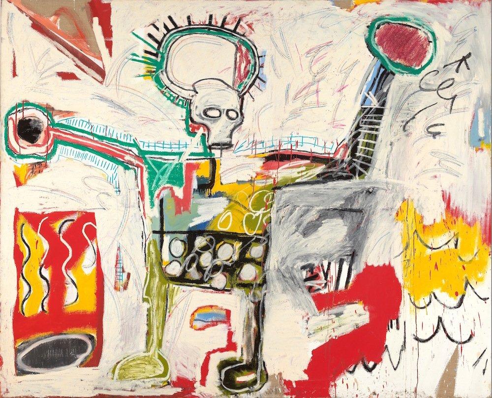 Jean-Michel Basquiat, Untitled 1982, Museum Boijmans Van Beuningen, Studio Tromp, Rotterdam