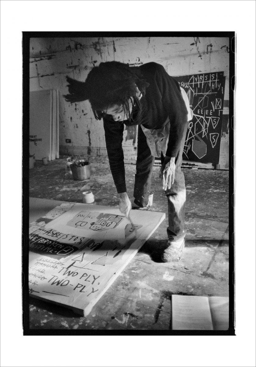 Jean-Michel Basquiat painting, 1983 ©Roland Hagenberg
