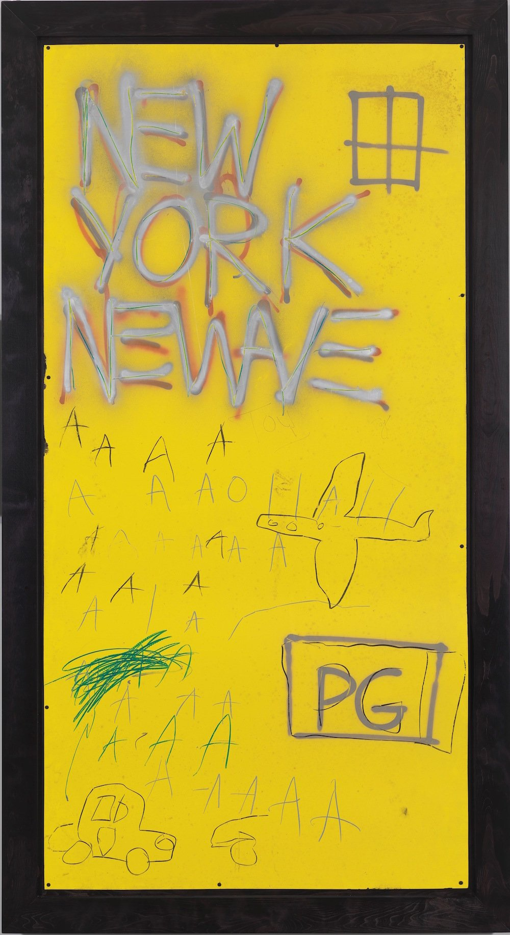Jean-Michel Basquiat, Untitled, 1980, Courtesy Whitney Museum of American Art © Estate of Jean-Michel Basquiat/ Artists Rights Society (ARS), New York/ ADAGP, Paris. Licensed by Artestar, NY