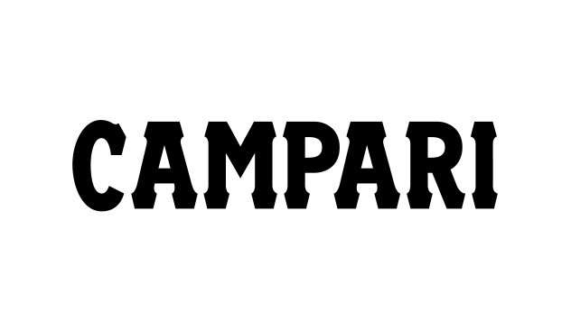 Campari advertising and branding work by Spinach Branding Agency London