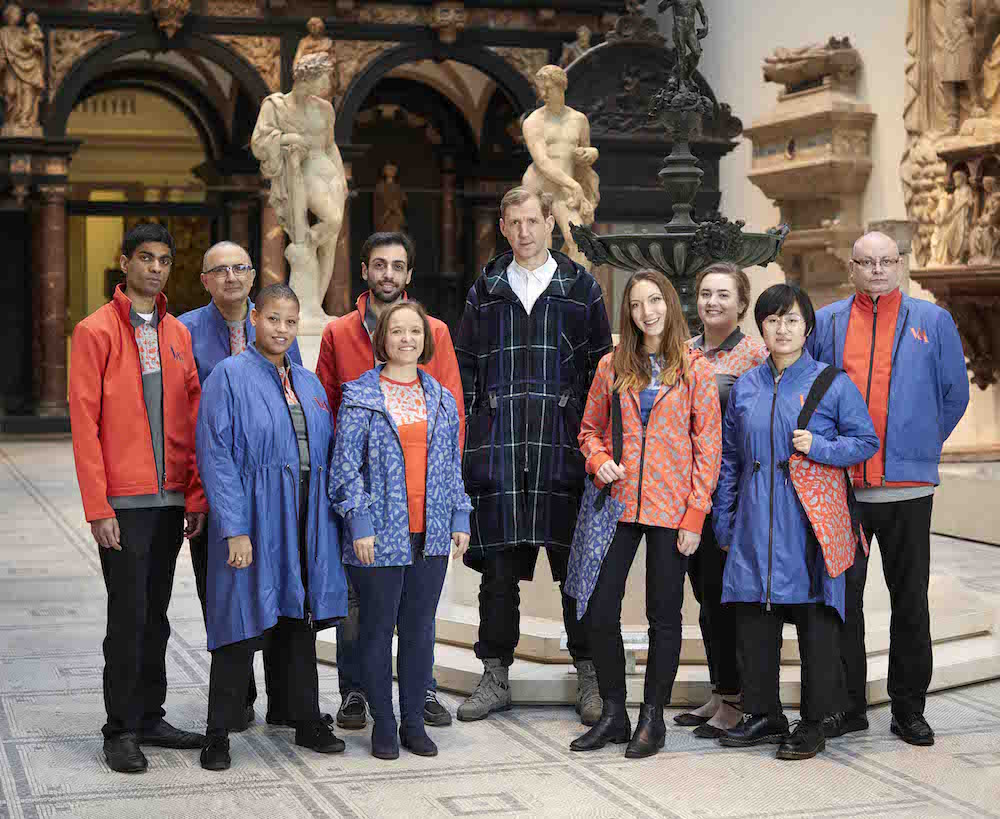 V&A new staff uniform © V&A, Shaun James Cox