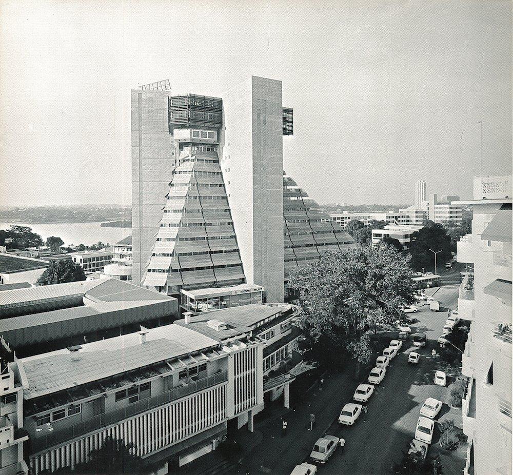 Rinaldo Olivieri: La Pyramide, Abidjan, Ivory Coast, 1968–1973