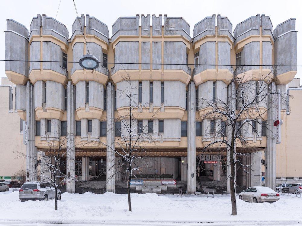 O. Gurevich / V. Zhukov: Hotel Rus, Saint Petersburg, Russia (1980/88). Photo © Konstantin Antipin 2016