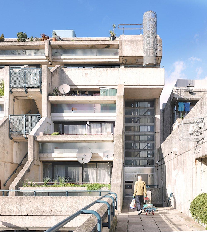 London Borough of Camden Architect's Department (Neave Brown): Alexandra and Ainsworth Estate, London, Great Britain (1967/79). Photo © Gili Merin 2017