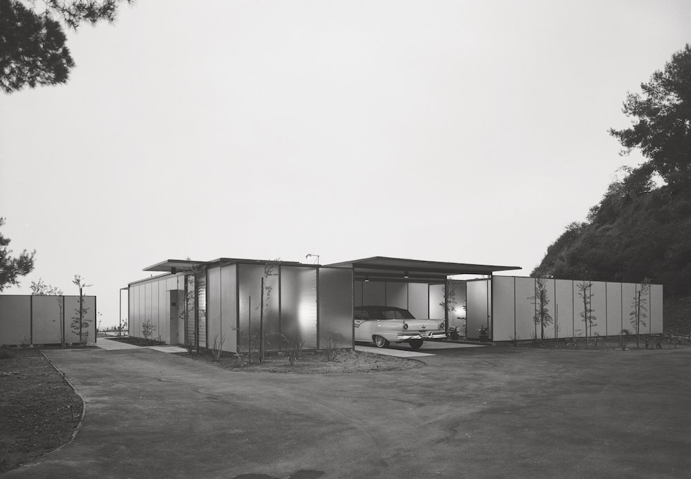 Craig Ellwood, Case Study House #18, Beverly Hills, 1958. Picture © courtesy of the Estate of Marvin Rand