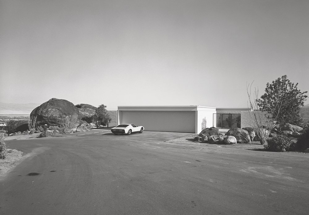 Craig Ellwood, Palevsky House, Palm Springs, 1971. Picture © courtesy of the Estate of Marvin Rand