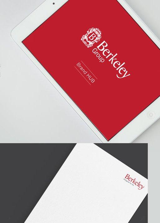 Brand Hub For The Berkley Group Branding Agency