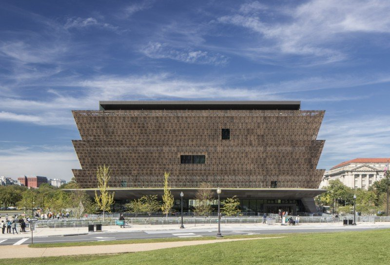Smithsonian National Museum of African American History © Adjaye Associates