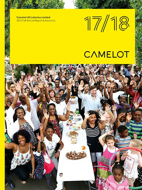 Camelot Annual Report Design Agency London