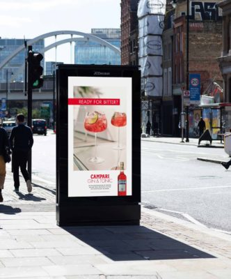 Campari UK brand advertising campaign by Spinach 'Ready for Bitter?'